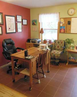 Art of Healing Wellness Waiting Room