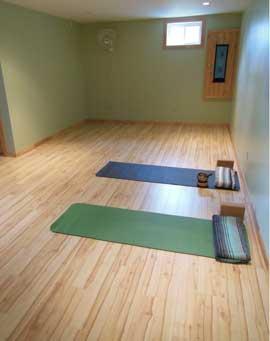 Art of Healing Wellness Yoga Room