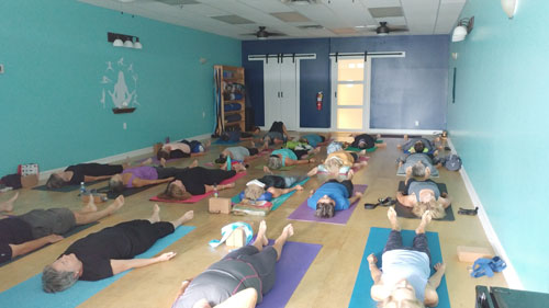 Art of Healing Yoga Students