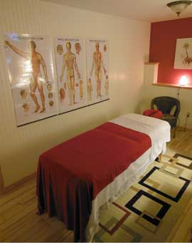 "Art of Healing Wellness ""Harmony' Therapy Room"